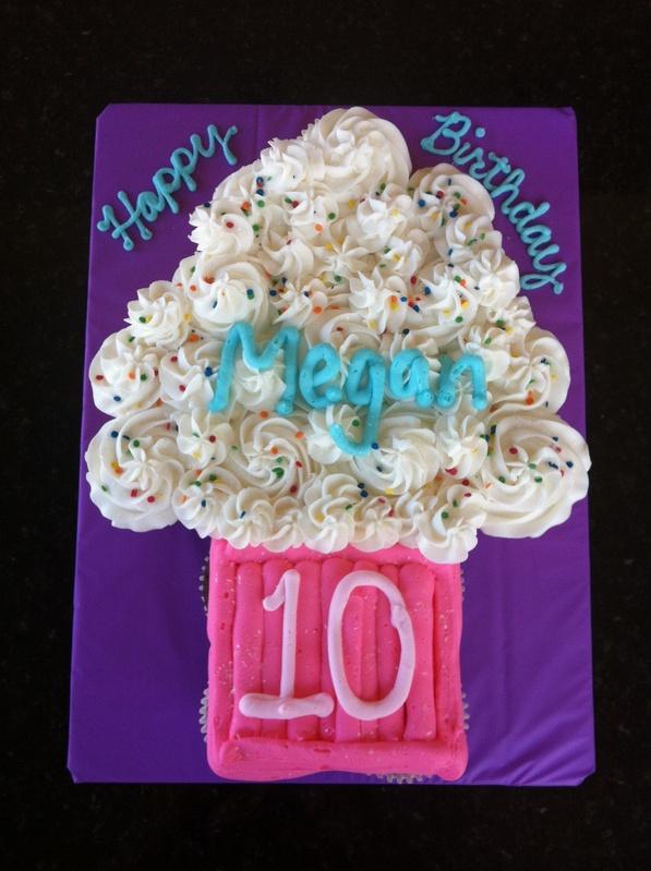 "Jumbo ""Cupcake"" Cake"
