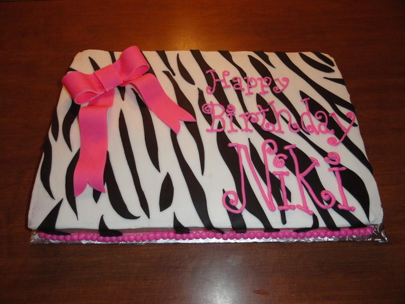 Zebra Print with Bow