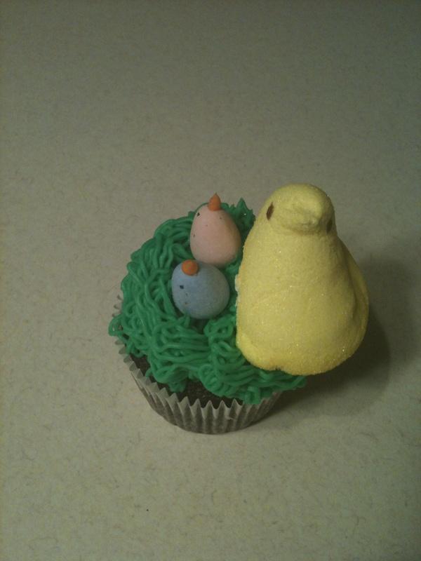 The Bird's Nest Cupcake