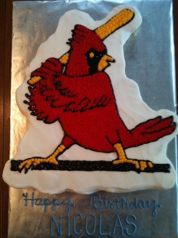 Fredbird Cupcake Cake