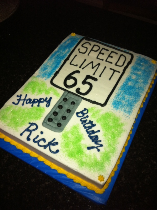 Speed Limit Cakes