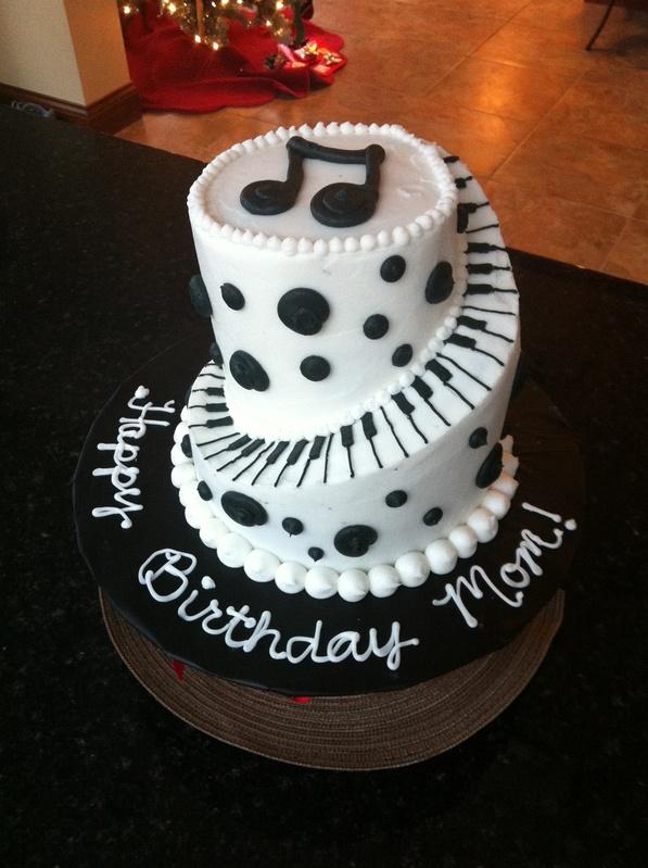 Piano Cake Ideas